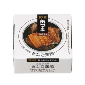 K&K 缶つまプレミアム 国内産 あなご蒲焼 x 6