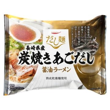 tabete だし麺 長崎県産炭焼きあごだし醤油ラーメン 107g x10