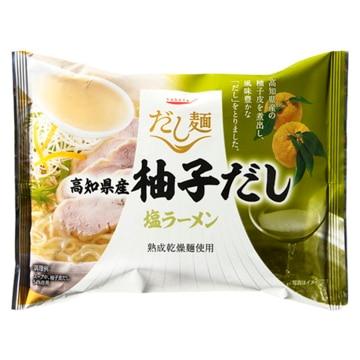 【10個入り】tabete だし麺 高知県産柚子だし塩ラーメン 102g x10