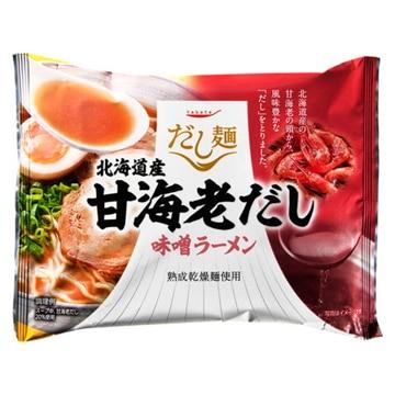 tabete だし麺 北海道産甘海老だし味噌ラーメン 104g x 10