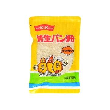 K&K 純生パン粉 サクサク 150g x20