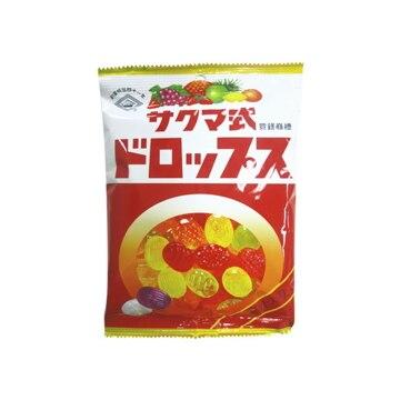 【送料無料】佐久間製菓 サクマ式ドロップスP 120g x6