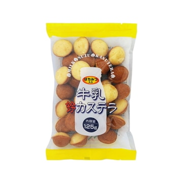 三黒製菓 日本橋菓房 MK15 牛乳鈴カステラ 125g x12
