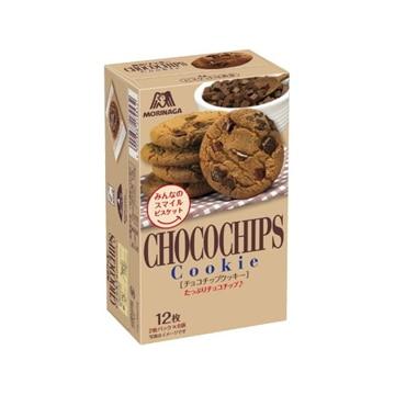 【送料無料】森永製菓 チョコチップクッキー 12枚 x 5