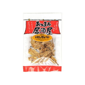 谷貝食品工業 日本橋菓房 おつまみ居酒屋 いわしせんべい 18g x12