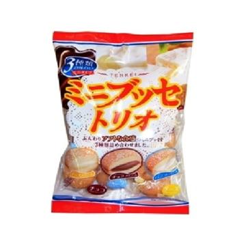 天恵製菓 天恵 ミニブッセトリオ 140g x12