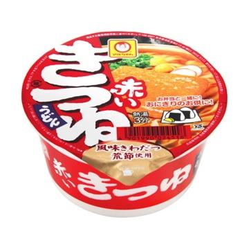 東洋水産 マルちゃん  赤いきつね  豆うどん  東  カップ  41g  x  12