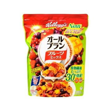 【送料無料】日本ケロッグ ケロッグ オールブランフルーツミックス 徳用袋 440g x6