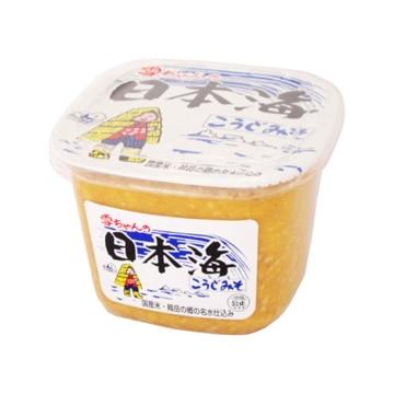 日本海味噌醤油 雪ちゃんの日本海こうじみそ カップ 1kg x6
