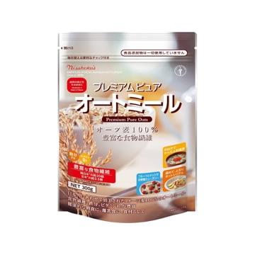 【送料無料】日本食品製造 日食 プレミアム ピュアオートミール 300g x4