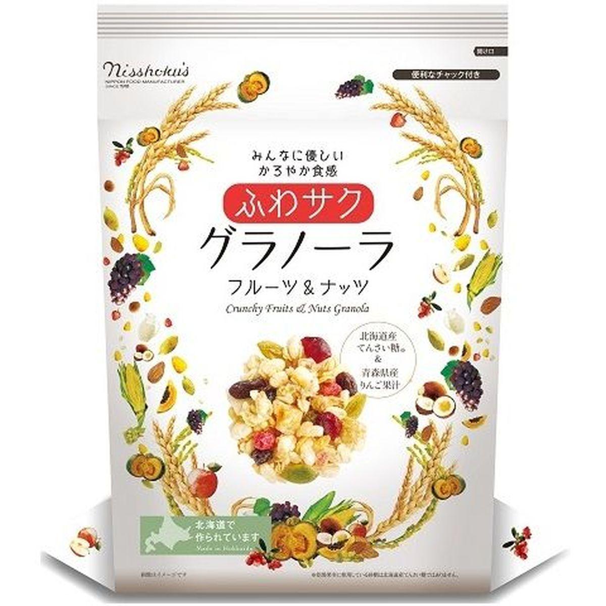 【送料無料】日本食品製造 日食 ふわサクフルーツ&ナッツグラノーラ 240g x4