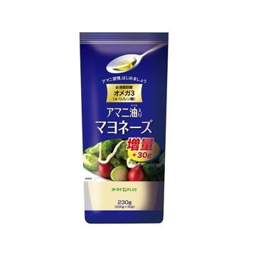 【送料無料】日本製粉 オーマイ PLUS アマニ油入マヨネーズ 200g x12