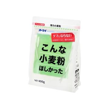 【送料無料】日本製粉 ニップン こんな小麦粉ほしかった 400g x12