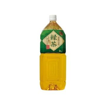 富永貿易 神戸茶房 緑茶 2L x 6