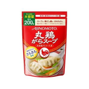 【送料無料】味の素AGF 【7個入り】味の素 丸鶏がらスープ 袋 200g