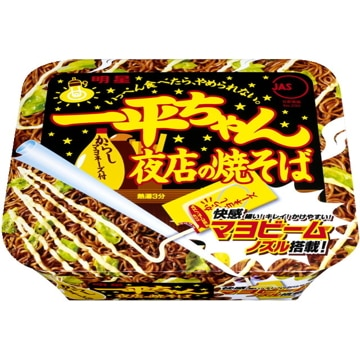 明星食品 明星 一平ちゃん 夜店の焼そば カップ 135g x 12