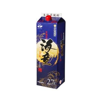 【送料無料】濱田酒造 単式25° 傳藏院蔵 海童 芋 パック 2.7L x1