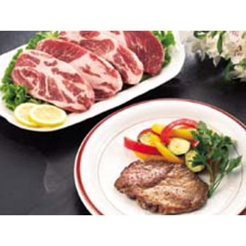 【冷凍】A40 イベリコ豚ステーキ用(ベジョータ)4枚