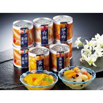 【送料無料】A86 国産フルーツ缶&みつ豆缶