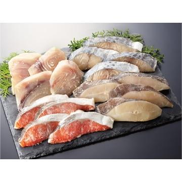 【冷凍】C22 魚心漬 漬魚4種詰合せ 16切 静岡県/焼津