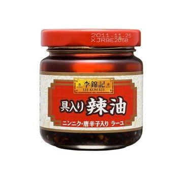 【12個入り】李錦記 香港飲茶 具入り辣油 85g