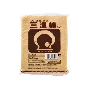 【10個入り】パールエース 三温糖 1Kg