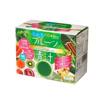 【5個入り】新日配薬品 乳酸菌入りフルーツ青汁 3gX15包