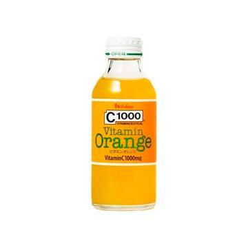 【6個入り】C1000ビタミンオレンジ瓶 140ml