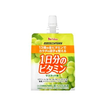 【6個入り】1日分ビタミンゼリーマスカット 180g