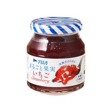【6個入り】アヲハタ まるごと果実 いちご 255g