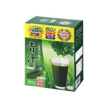 【5個入り】芙蓉薬品 自然の極み青汁 (新日配薬品) 3gX20