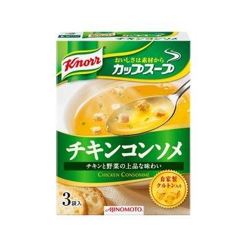 味の素 クノール カップスープ チキンコンソメ 3袋 x 10個