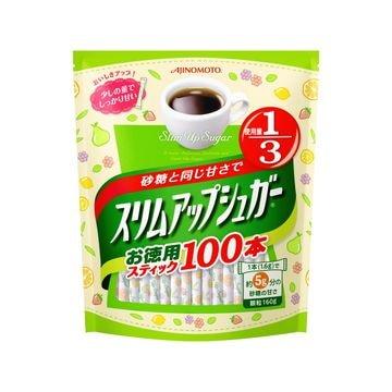 【10個入り】味の素 スリムアップシュガー スティック 100本