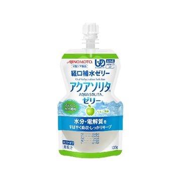 【6個入り】味の素 アクアソリタゼリー りんご風味 130g