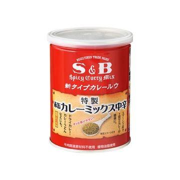 【送料無料】S&B 赤缶 カレーミックス 200g x 4個