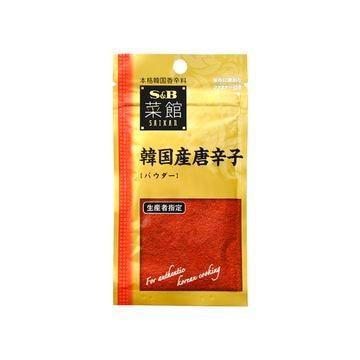エスビー 菜館 韓国産唐辛子 パウダー 15g x 10個