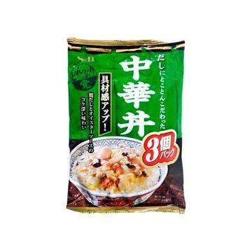 【8個入り】エスビー どんぶり党 中華丼 3個パック 165gX3
