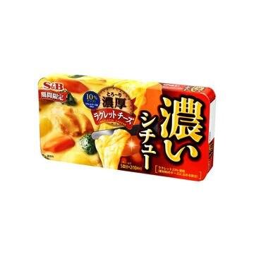 【送料無料】【10個入り】エスビー 濃いシチュー ラクレットチーズ 170g