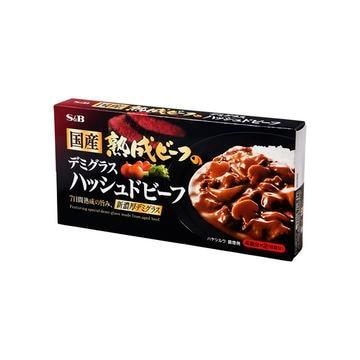 【10個入り】エスビー 熟成ビーフデミ ハッシュドビーフ 150g