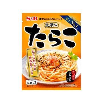 【送料無料】【60個入り】S&B まぜスパ 生風味スパソース たらこ 53.4g