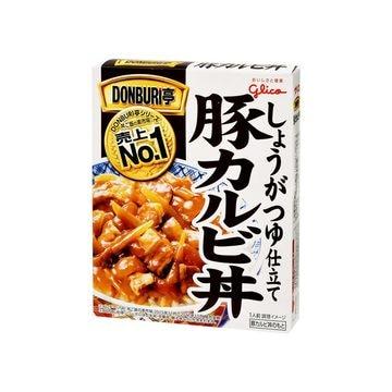 【10個入り】グリコ DONBURI亭 豚カルビ丼 160g
