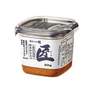 【6個入り】蔵元玉井 匠 無添加生味噌 カップ 500g