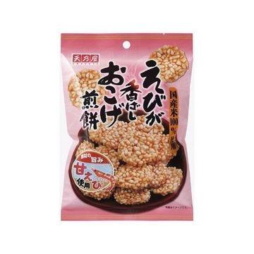 【10個入り】天乃屋 えびが香ばしおこげ煎餅 38g