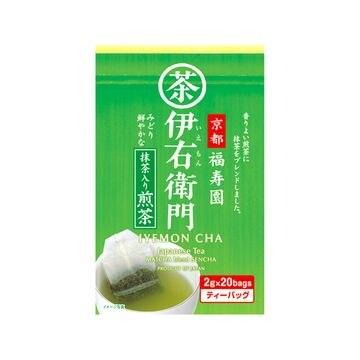 【12個入り】福寿園 伊右衛門 抹茶入煎茶ティーバッグ 2gX20袋