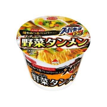 【12個入り】エースコック スーパーカップ1.5野菜タンメンペッパー 108g