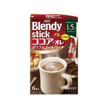 【6個入り】AGF ブレンディスティック ココアリッチ 6本