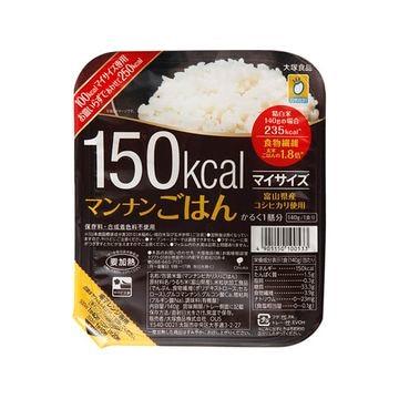 【6個入り】大塚食品 マイサイズ マンナンごはん 140g