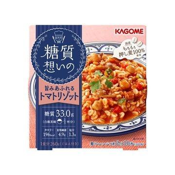 【6個入り】カゴメ 糖質想いのトマトリゾット 260g