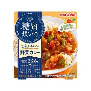 カゴメ 糖質想いの野菜カレー 240g x 6個