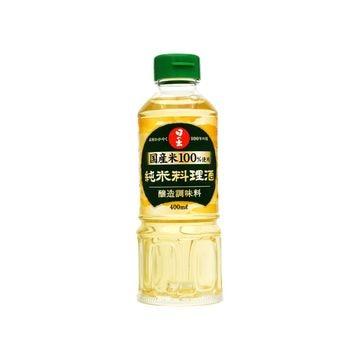 【送料無料】【10個入り】日の出 国産米使用 純米料理酒 400ml